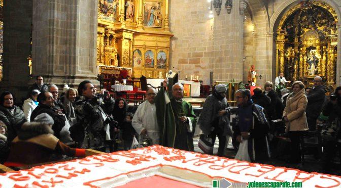 Galería: Pese al frío también se pudo disfrutar de la bendición del rosco en Calahorra