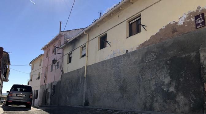 Comienzan las obras en la calle Cárcaba