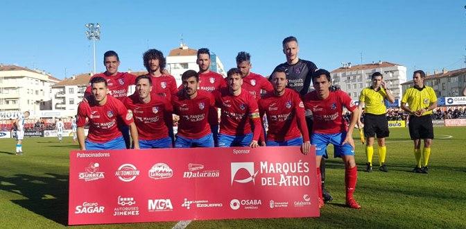 El CD Calahorra, aunque mereció ganar, perdió por la mínima frente a la Real Sociedad B