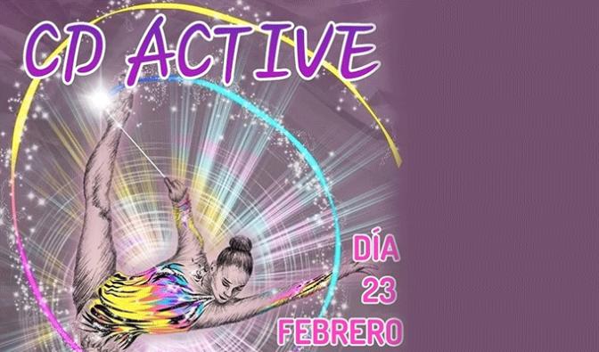 Exhibición del CD Active en el polideportivo de Sartaguda