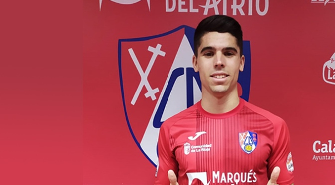 Gonzalo Pereira Cejudo nuevo jugador del CD Calahorra