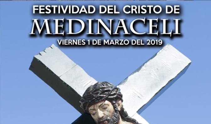 Mañana se celebra la festividad del Cristo de Medinaceli