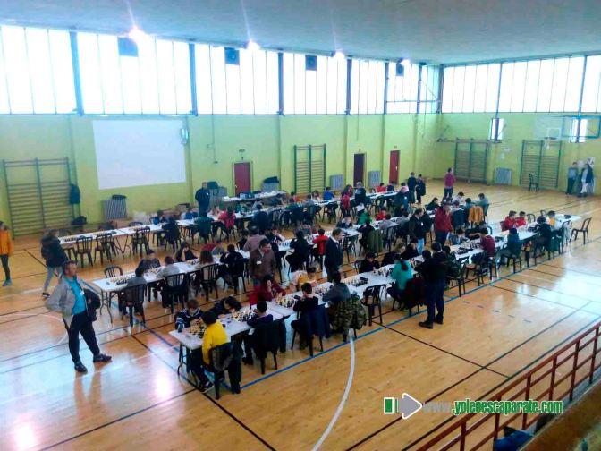 Gran jornada de ajedrez vivida en el pabellón Quintiliano de Calahorra durante el fin de semana