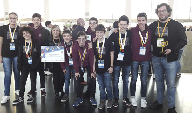 El equipo AGUSTIFIT consigue el Premio Fundación Princesa de Girona al Emprendimiento en la First Lego League