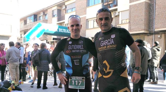 Carlos Gutierrez y Juantxo García comienzan la temporada de duatlon
