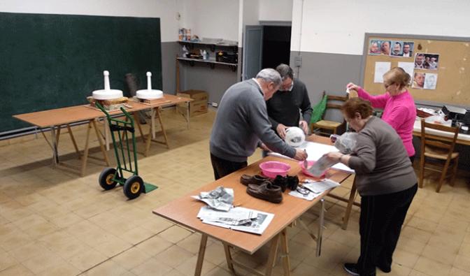 Se abre un taller en Alfaro para confeccionar los Judas del Domingo de Resurrección