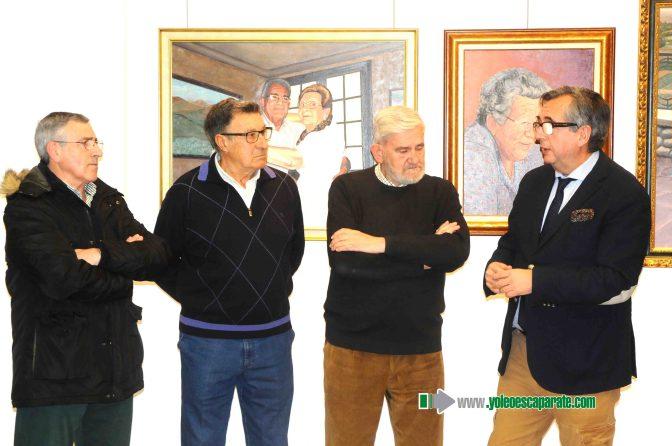 Galeria:  Inaugurada la exposición de los artistas calagurritanos Gerardo Gil y José Antonio Alcalde