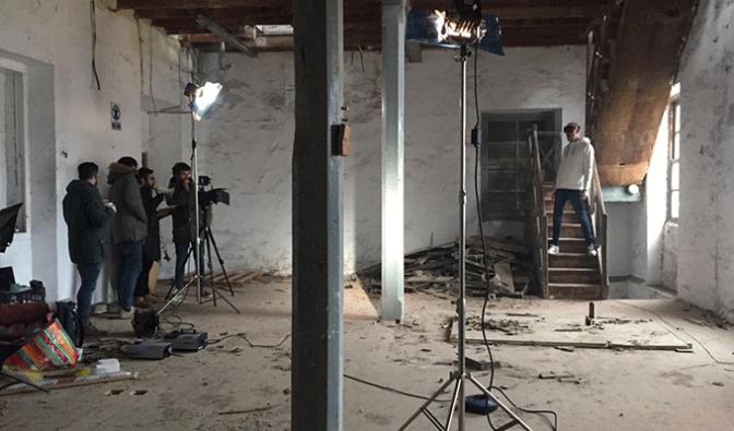 La Casa Azul, de Guille Milkyway se encuentra en La Rioja grabando su nuevo videoclip