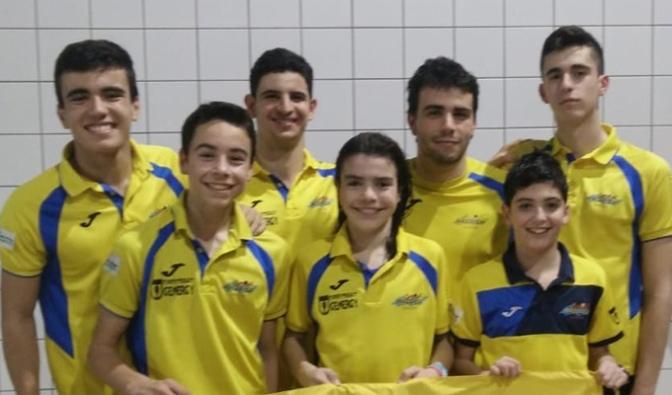 Seis nadadores del Nassica de Calahorra a los campeonatos de España