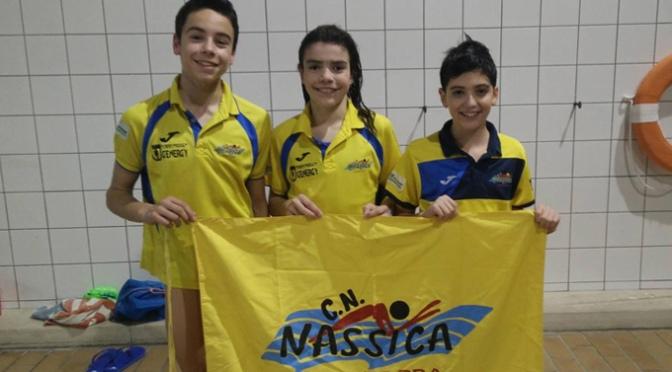 Iván Martínez, Mario Regaira y Elena Olloqui al campeonato de España