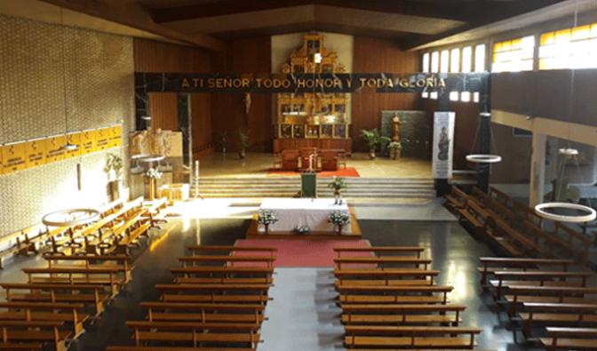 """""""La iglesia nueva"""" de Calahorra cumple 50 años"""
