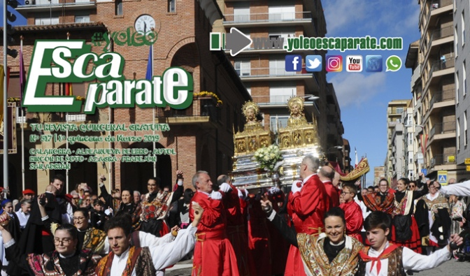 Ya está aquí la edición de la 1ª Quincena de Marzo, especial de Fiestas en Calahorra y Carnavales en los pueblos