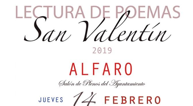 Lectura de poemas por San Valentín