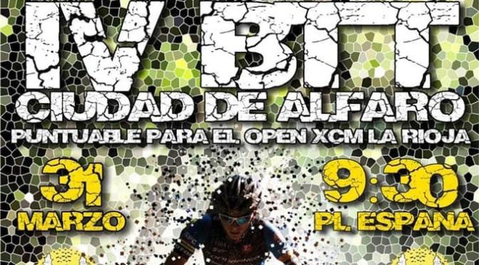 543 inscritos en la IV BTT Ciudad de Alfaro