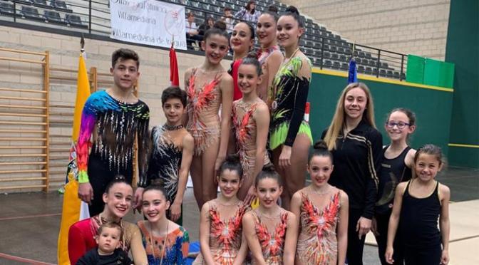 El Club Gimnasia Rítmica A.D.Agustinos de Calahorra se clasifica para el campeonato de España base