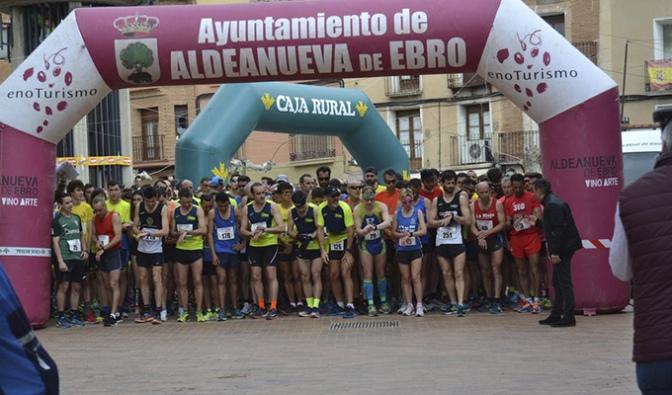 Gran fiesta del atletismo en Aldeanueva de Ebro