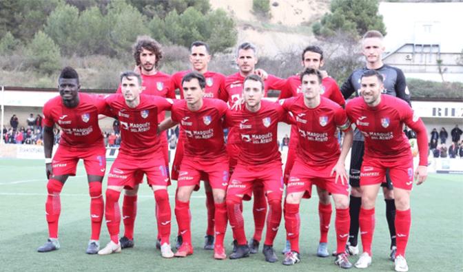 Tras el triunfo del domingo el CD Calahorra continua con los entrenamientos esta semana
