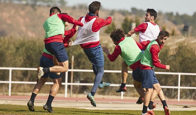 Hoy han comenzado los entrenamientos del CD Calahorra tras la victoria del sábado