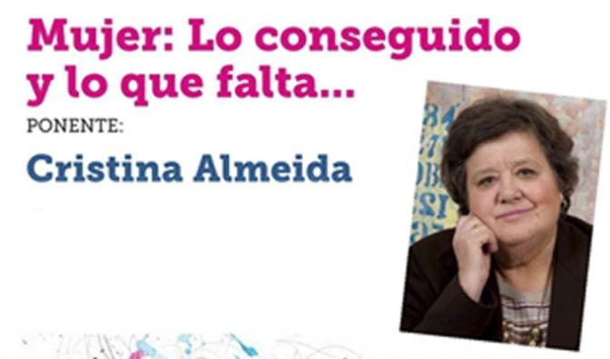 CHARLA – COLOQUIO con Cristina Almeida  en Alfaro