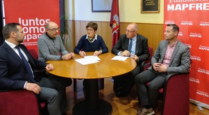 """Firmado el convenio """"Juntos Somos Capaces"""" para contribuir a la inserción laboral de jóvenes con discapacidad"""