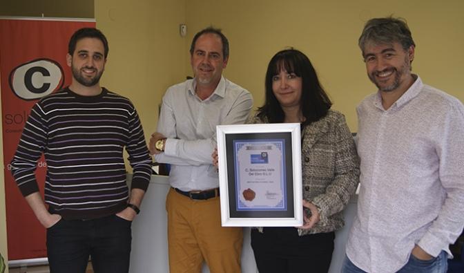 C, Soluciones Empresariales en San Adrián reconocida como la mejor consultora de seguridad agroalimentaria de España