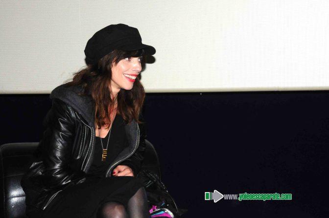 Una abarrotada sala de cines ARCCA disfrutó de Maribel Verdú
