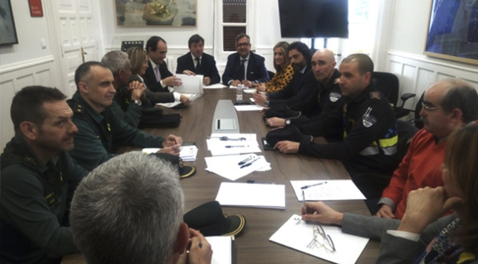 Junta Local de Seguridad en Calahorra