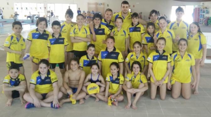 5ª Jornada escolar de natación prebenjamin y benjamin