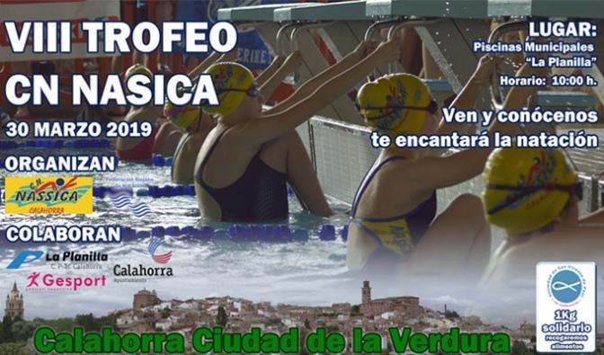 """VIII Trofeo Club Natación Nassica Calahorra """"Ciudad de la Verdura"""""""