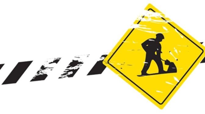 Corte de la autopista  AP-68 en Calahorra en la noche del miércoles