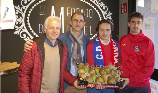 El Mercado de Miguel cumple su 2ª aniversario y lo celebra premiando al CD Calahorra