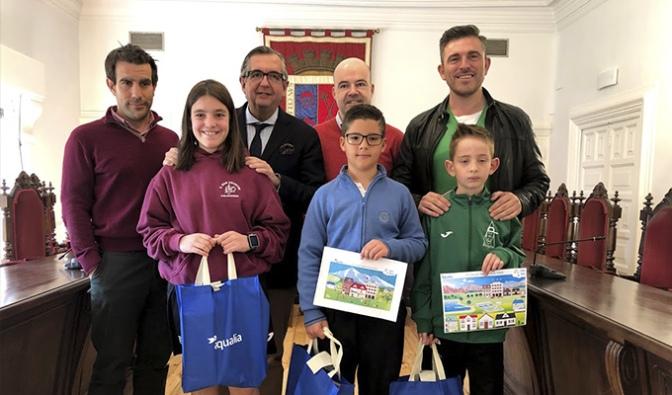 Paula Provedo Calvo, Jorge Aragón Gallardo y Sergio García López finalistas del concurso Digital Infantil de Aqualia