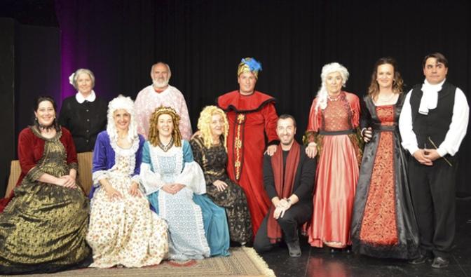Gran estreno del ciclo teatro amateur en San Adrián