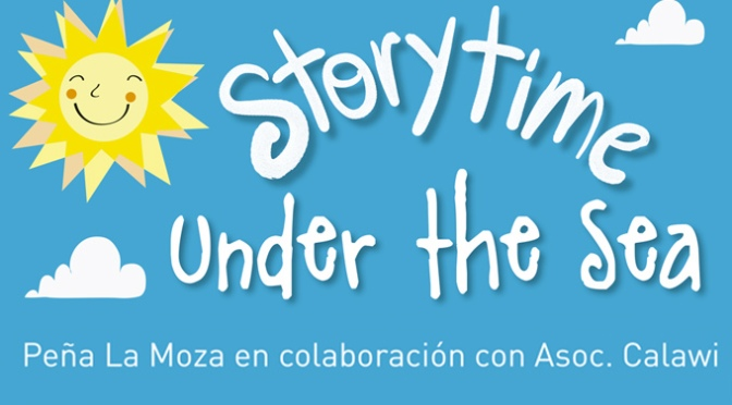 """Story time """"Under the sea"""" por una buena causa"""
