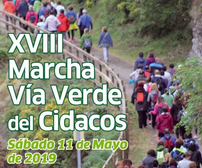 La XVIII Marcha Vía Verde del Cidacos saldrá el 11 de mayo de Préjano