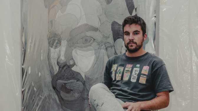 Continúan las intervenciones artísticas a lo grande en Pradejón