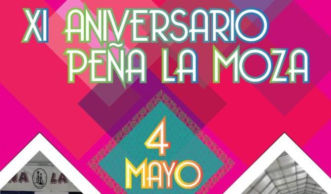 La Peña La Moza celebra su XI Aniversario este fin de semana