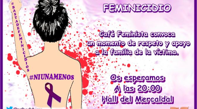 El colectivo Café Feminista saldrá a la calle cada vez que asesinen a una mujer por violencia machista