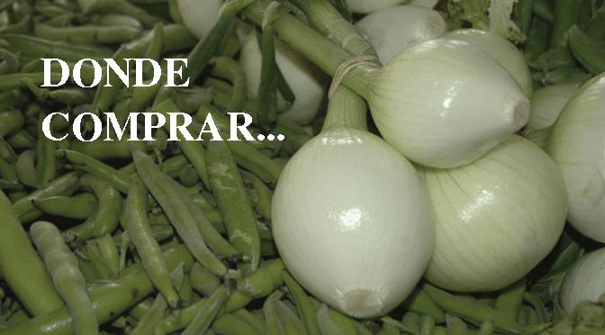 Donde comprar verduras estos días