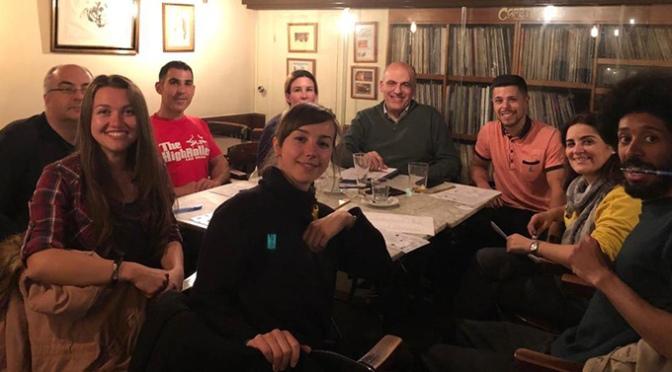 """Iniciado el """"Café de conversación internacional"""" del CJCC"""