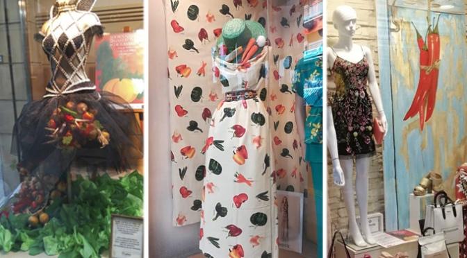 Cripton Moda gana el primer concurso de escaparates de las XXIII Jornadas Gastronómicas de la Verdura