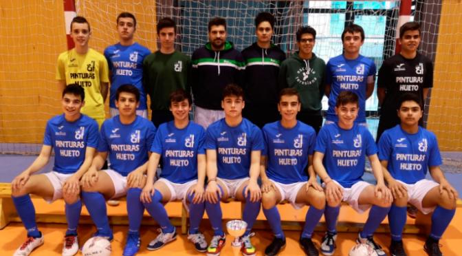 El colegio Santa Teresa campeón de la Liga de La Rioja de futbol sala