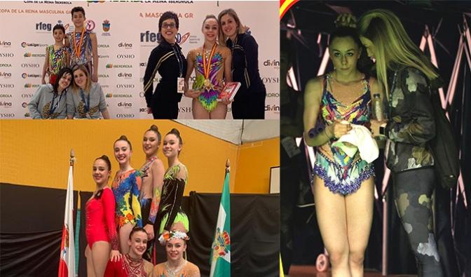 Verónica Martínez CAMPEONA DE ESPAÑA en categoría juvenil de Gimnasia Rítmica
