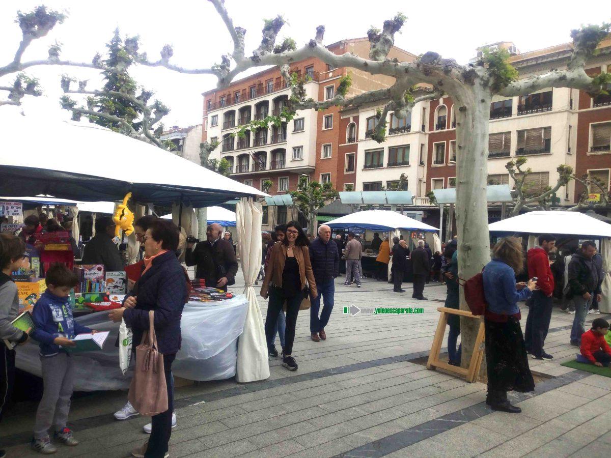 Hoy Feria del libro en Calahorra