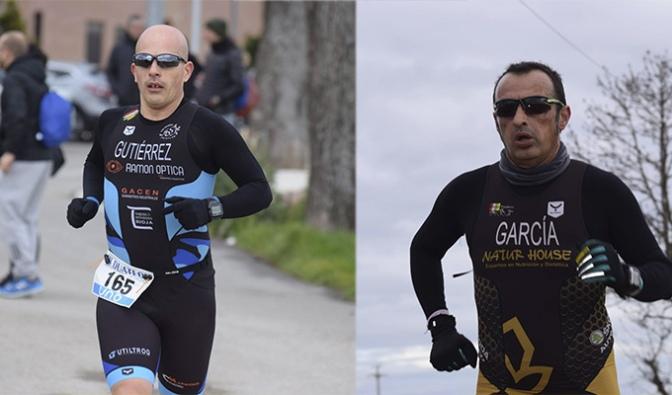 Carlos Gutierrez y Juantxo Garcia al Campeonato de España de Duatlon