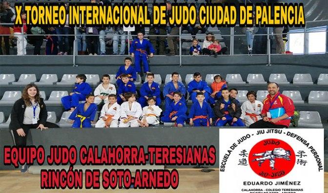 Excelentes resultados en Palencia para los judokas de Teresianas-Calahorra y Rincón de Soto