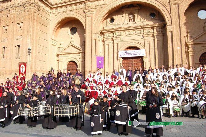 El domingo se celebró en Alfaro la VIII Exaltacion de Tambores y bombos