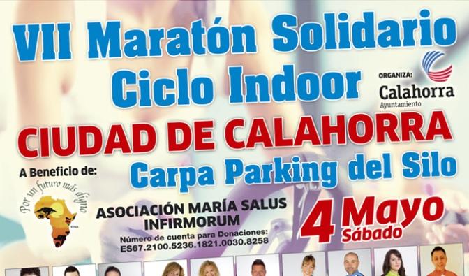 """VII Maratón solidario de ciclo indoor """"Ciudad de Calahorra"""""""