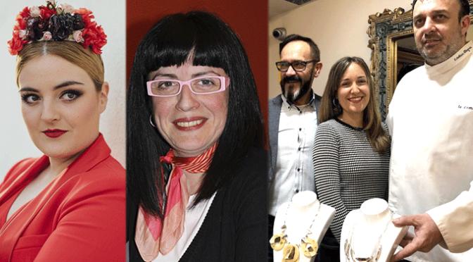 Cristina García,  Leticia León y Jesús Ángel Ruiz y Esteban Alegría exponen sus creaciones hoy en  VIII Pasarela Ciudad de la Verdura