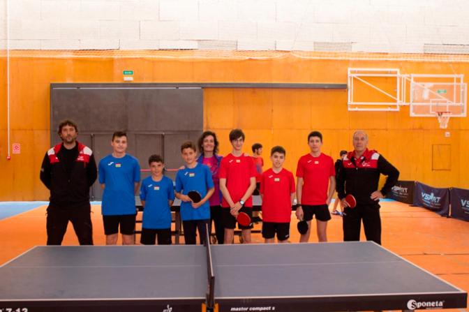 Valledeporte en el Campeonato de España de tenis de mesa